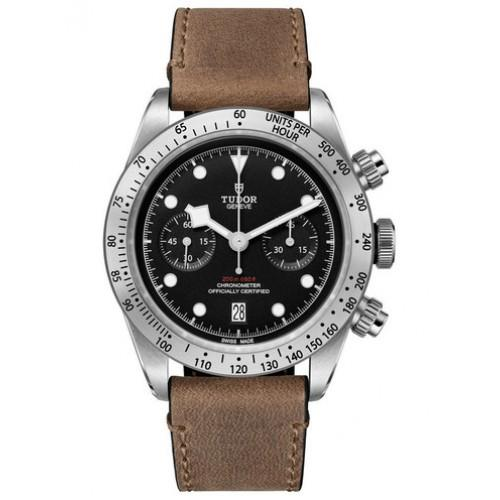 Tudor Heritage Black Bay Chronograph Automatic in Steel