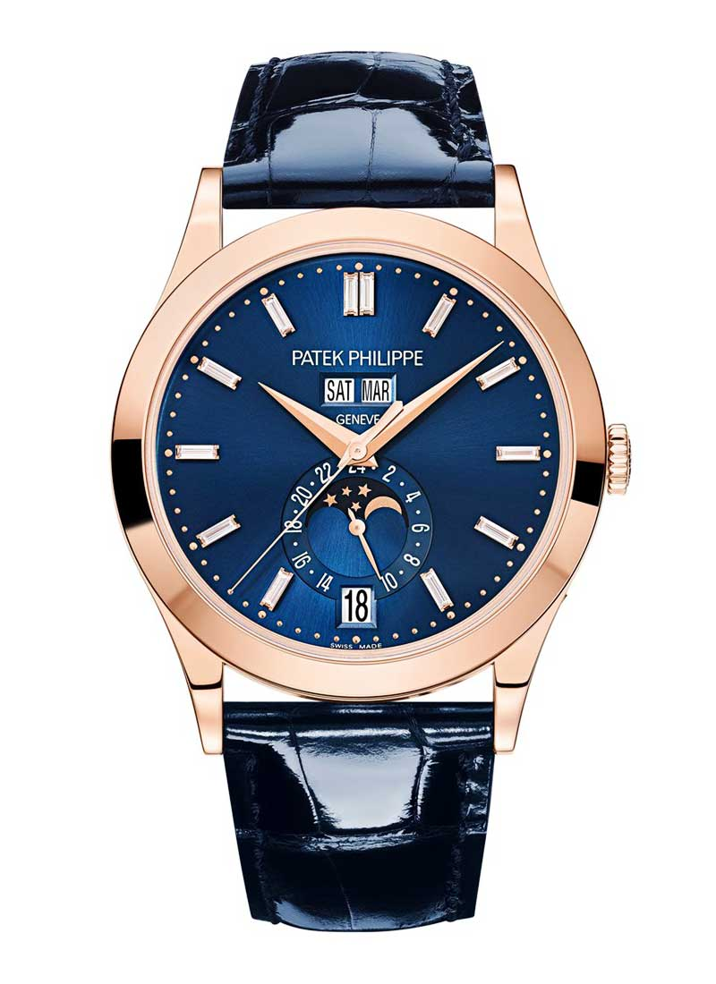 Patek Philippe Annual Calendar Complications 38.5mm in Rose Gold