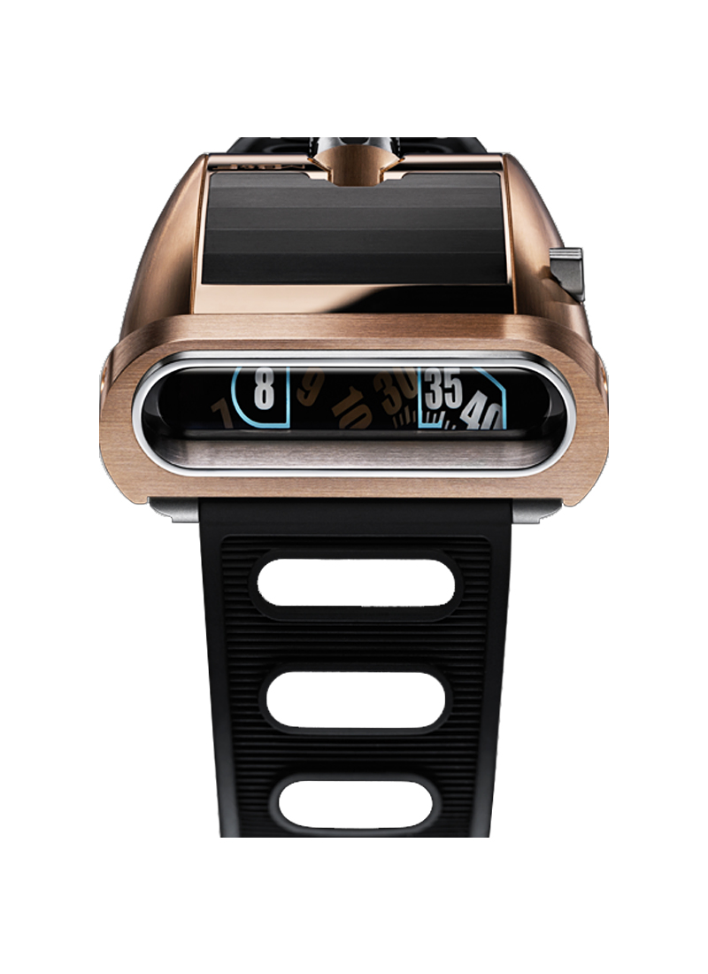 MB & F HM5 Horological Machine No.5 in Rose Gold and Titanium with DLC Coating