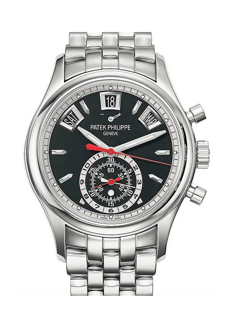 Patek Philippe Annual Calendar Chronograph 5960 in Steel