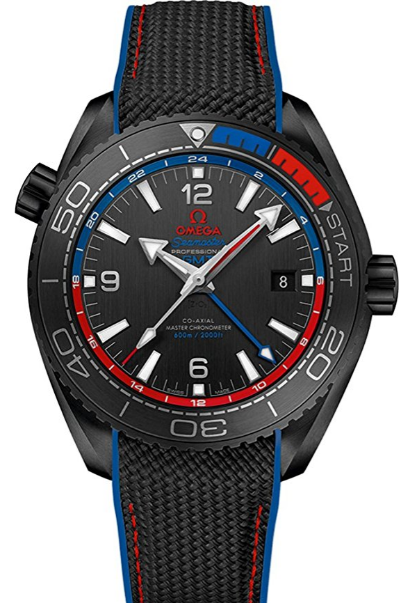 Omega Seamaster Planet Ocean 600M in Black Ceramic