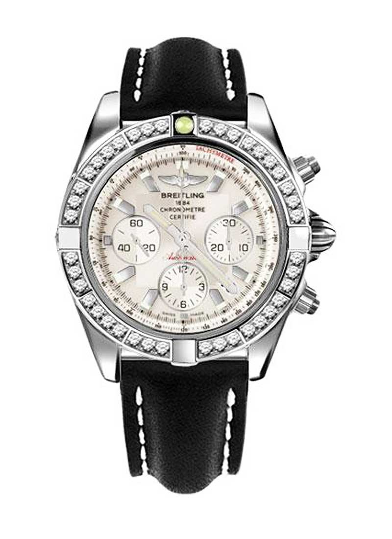 Breitling Chronomat 44mm Automatic in Steel with Diamond Bezel