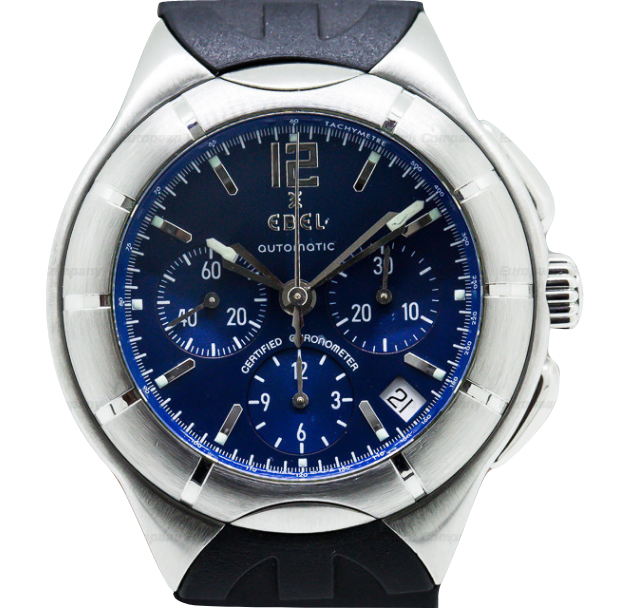 Ebel Type E Chronograph in Steel