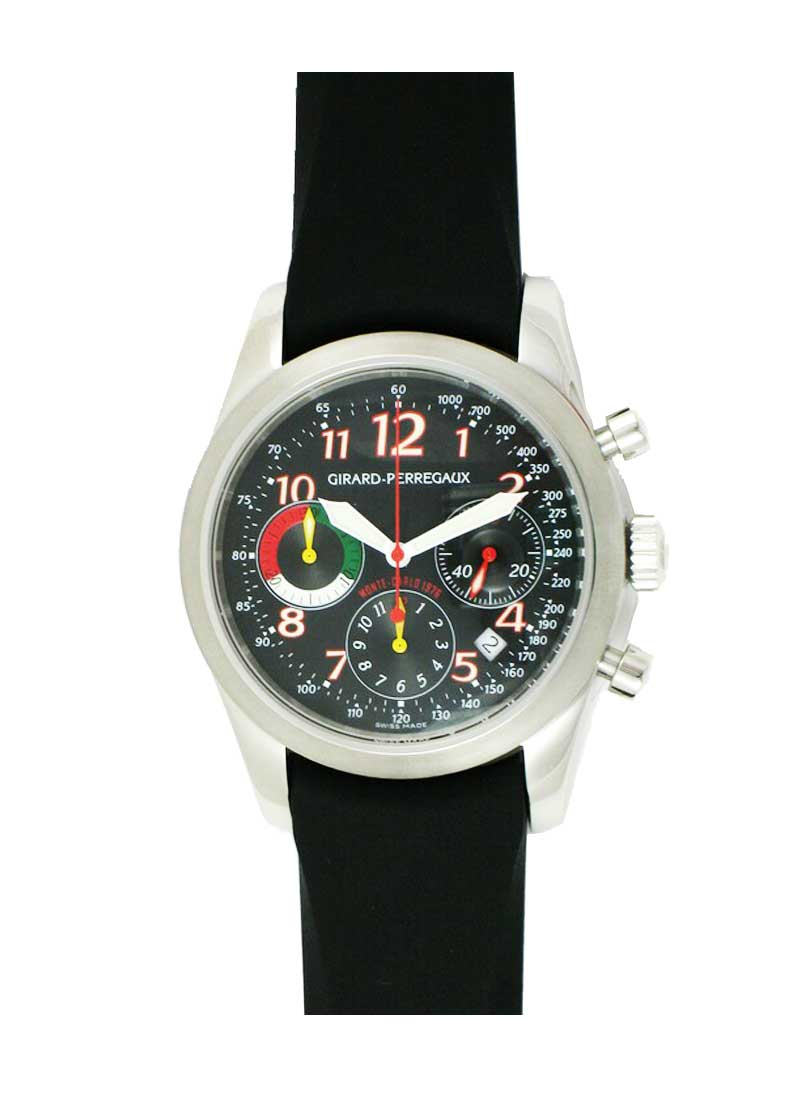 Girard Perregaux Rally Monte-Carlo 1976 Chronograph 40mm Automatic in Steel