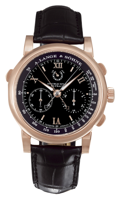A. Lange & Sohne Double Split Sincere Chronograph in Rose Gold - Limited Edition