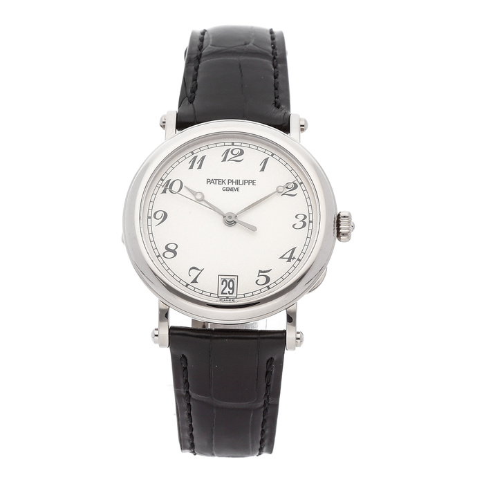 Patek Philippe 5053G Calatrava Officer in White Gold
