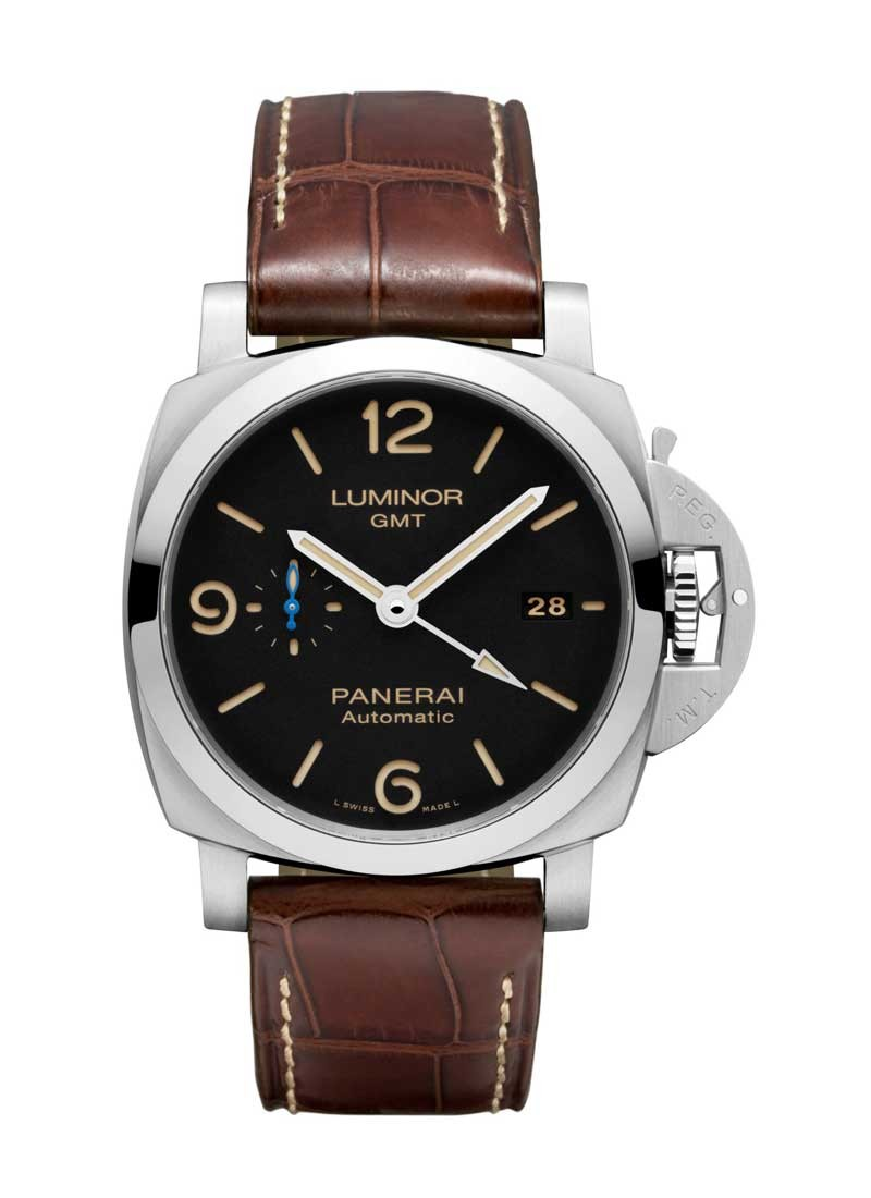 Panerai PAM 1320 - Luminor 1950 3 Days GMT 44mm Automatic in Stainless Steel