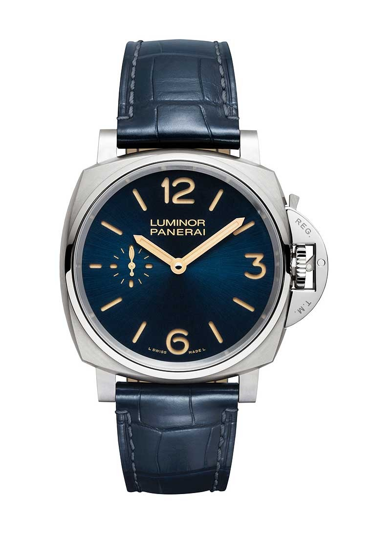 Panerai PAM 728 - Luminor Due 3 Days  42mm Titanio in Titanium
