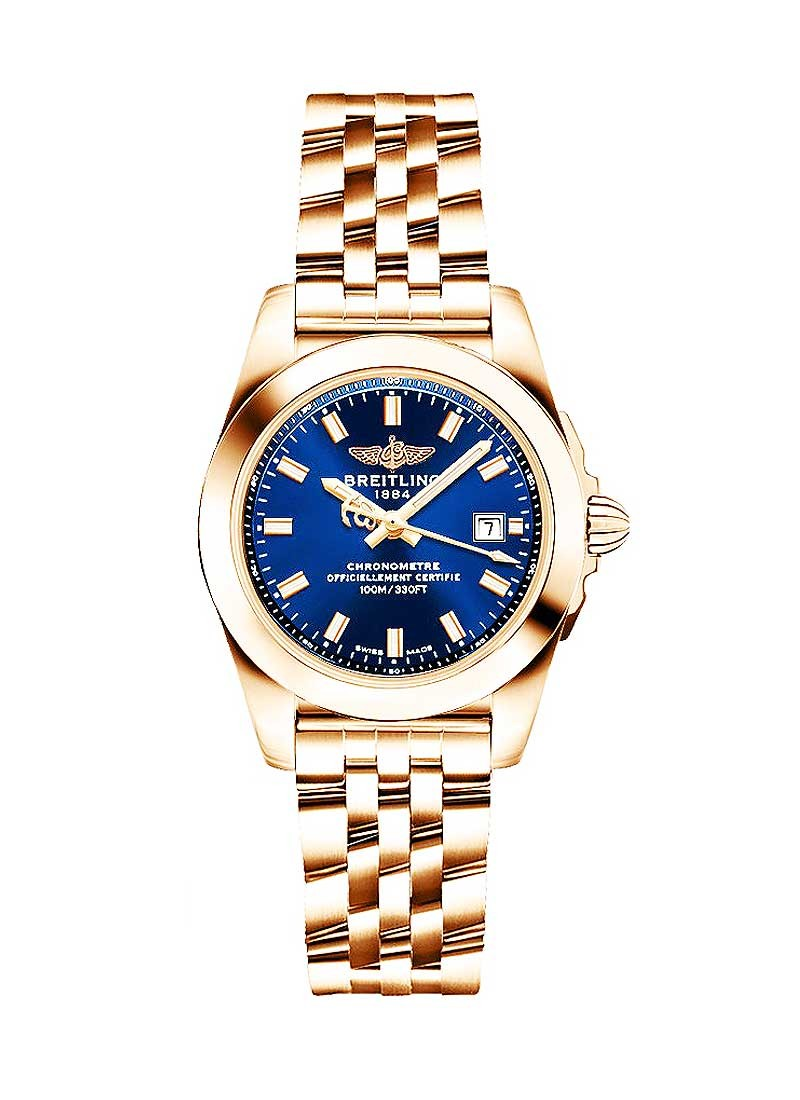 Breitling Galatic 29mm in Rose Gold