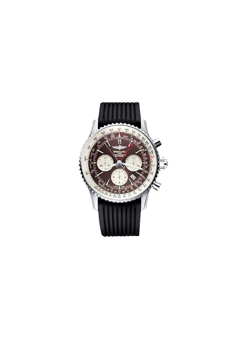 Breitling Navitimer Rattrapante 45mm in Steel