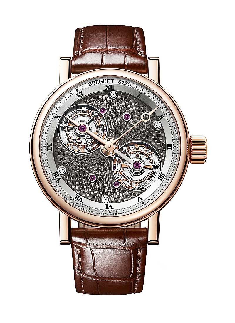 Breguet Classique Grande Complications Double Tourbillon in Rose Gold