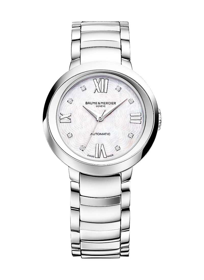 image watch georg jensen watches ladies leather concave diamond white