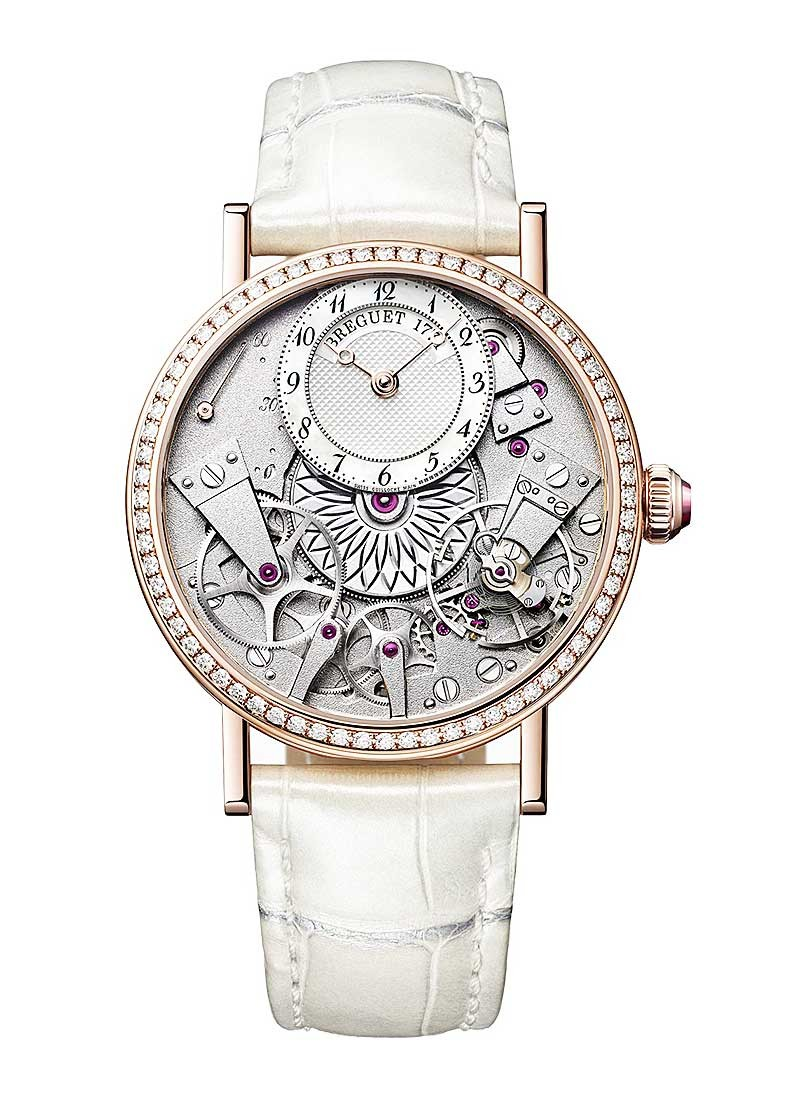 Breguet La Tradition Dame 37mm in Rose Gold with Diamond Bezel