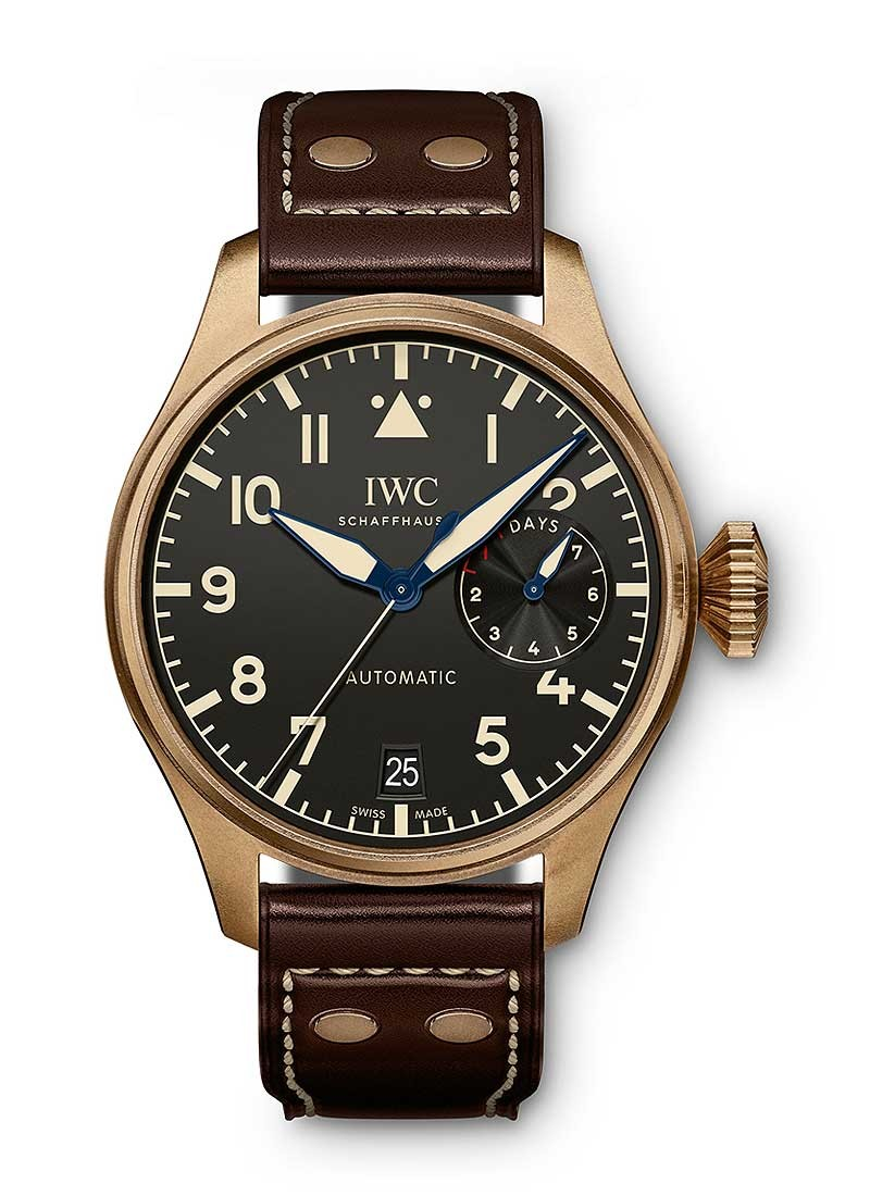 IWC Big Pilot Heritage in Bronze - Limited Edition to 1500 pcs.