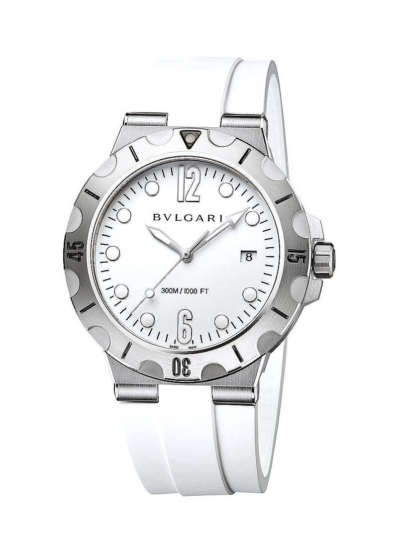 Bvlgari Diagono Scuba in Steel