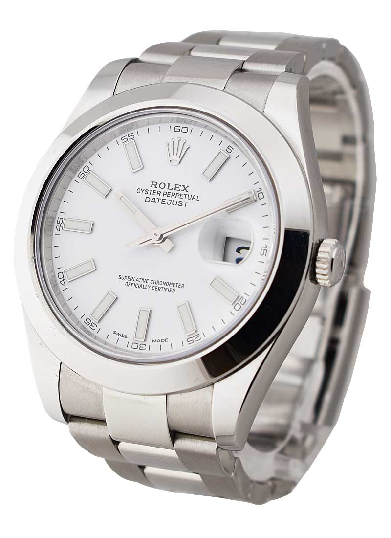 Rolex Used Datejust II - 41mm - Steel  -  Smooth Bezel