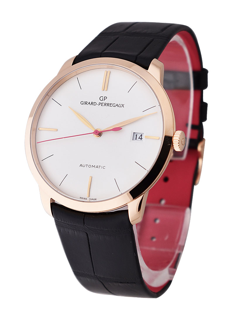 Girard Perregaux Classique 1966 Special Edition for Beverly Hills Hotel in Rose Gold