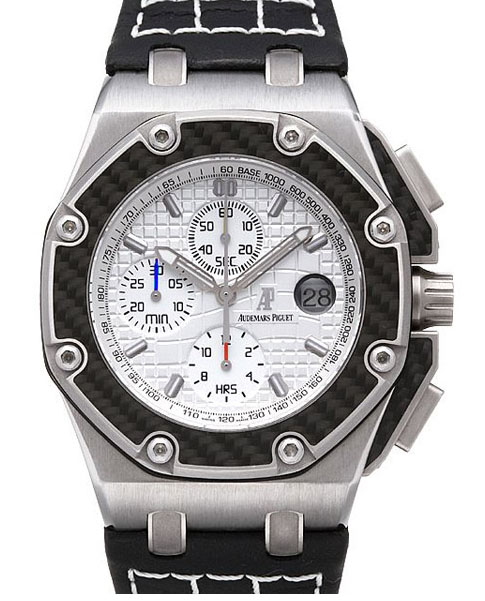 Audemars Piguet Royal Oak Offshore in Titanium with Carbon Fiber