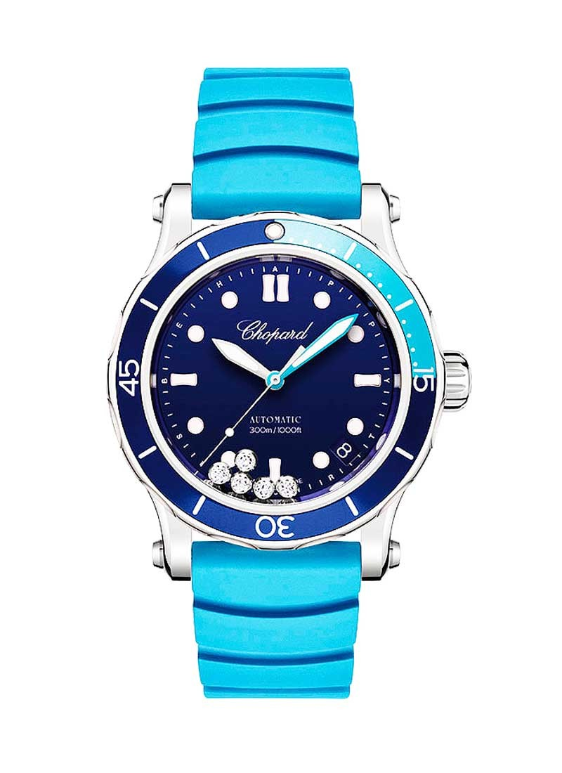 Chopard Happy Ocean Round 40mm in Steel