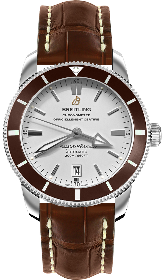 Breitling Superocean Heritage II 42mm Automatic in Steel with Bronze Ceramic Bezel