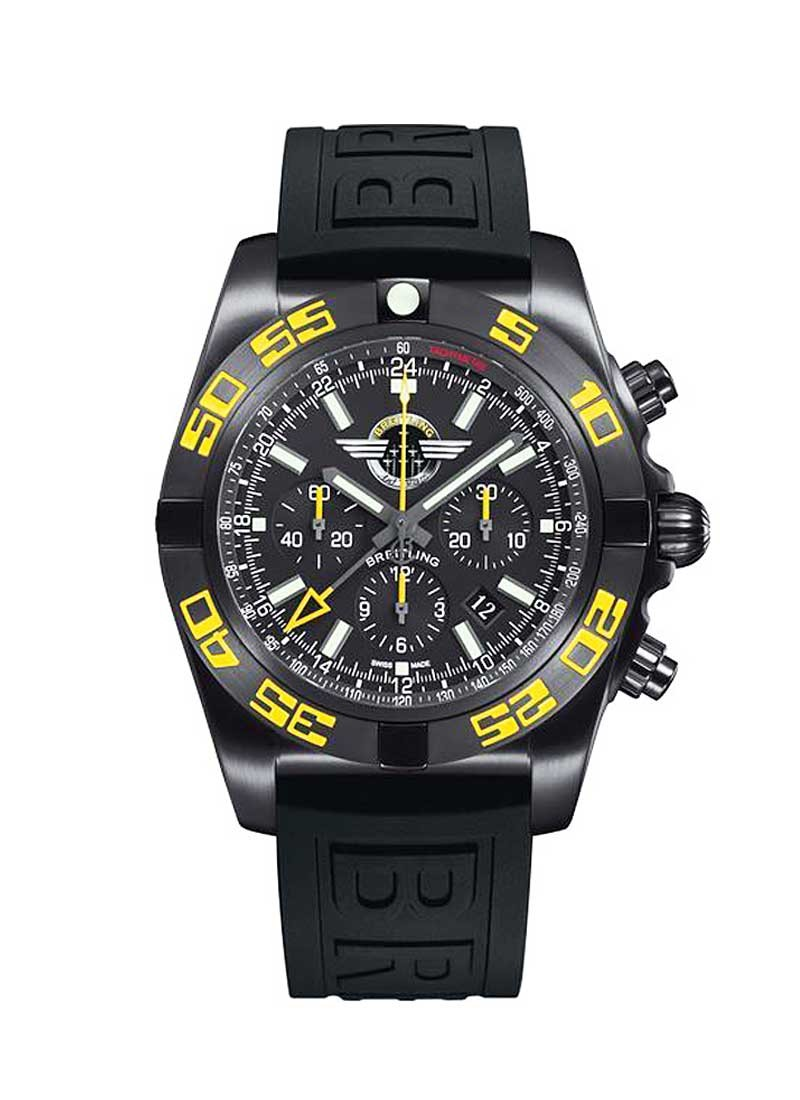 Breitling Chronomat GMT Jet Team American Tour in Black Steel - Limited Edition