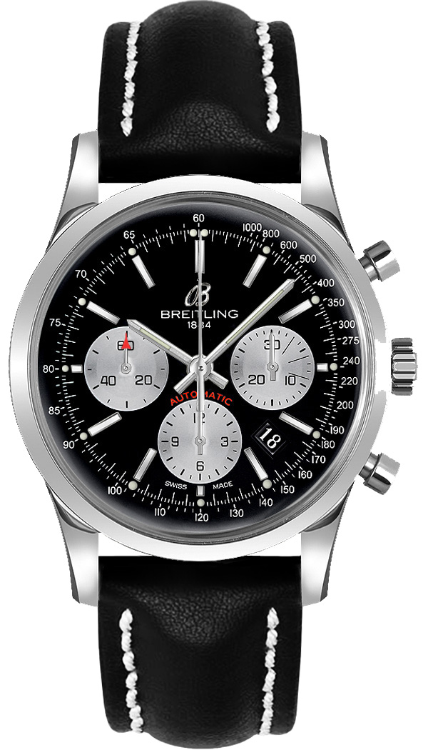 Breitling Transocean 01 Chronograph in Steel