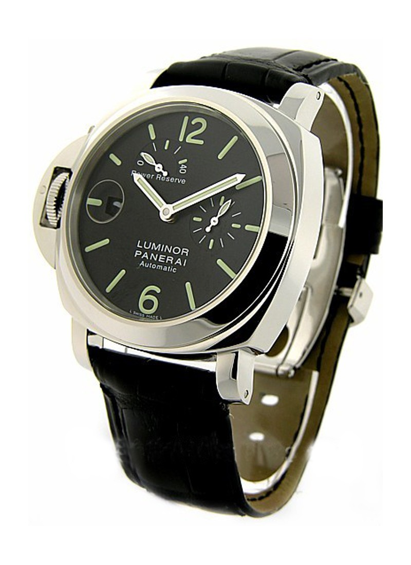 Panerai PAM 123 - Luminor Power Reserve Destro in Steel