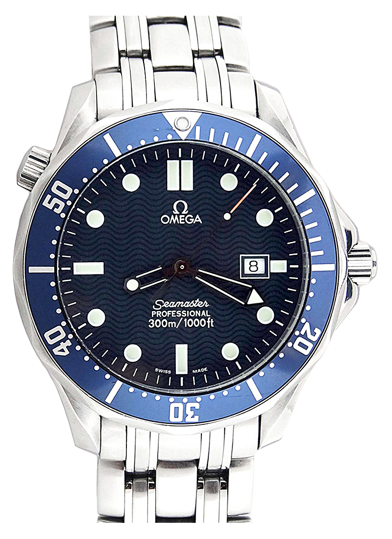 Omega Seamaster James Bond with Date 41mm in Steel