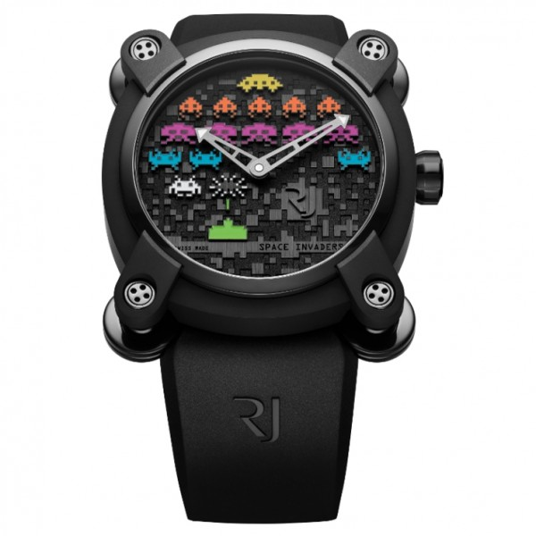 Romain Jerome Moon Invader Space Invaders Limited Edition in Black PVD
