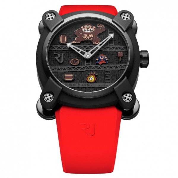 Romain Jerome RJ X Donkey Kong 46mm in Black PVD Titanium - Limited to 81 pcs. ONLY