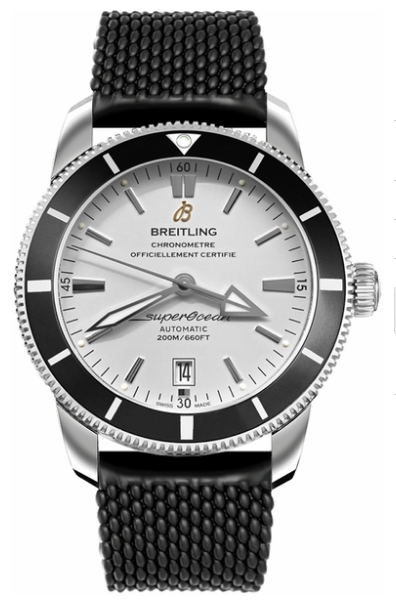 Breitling Superocean Heritage II 46 in Steel with Black Bezel