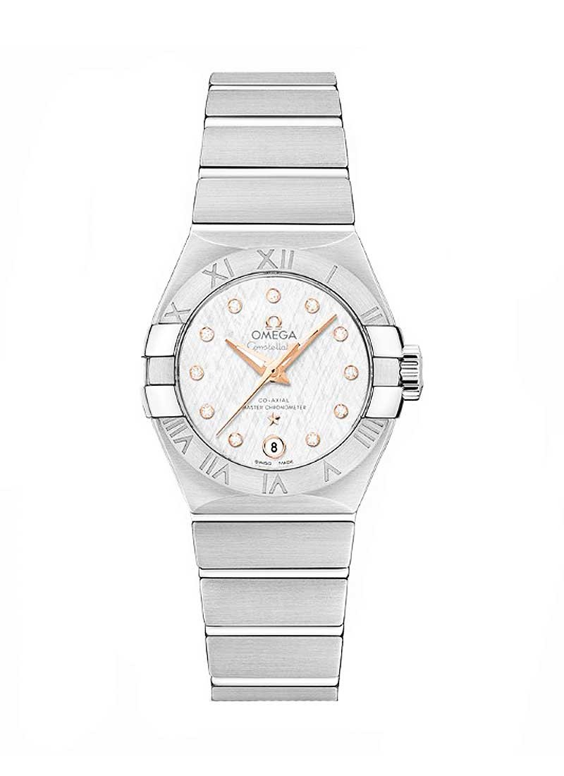 Omega Constellation Master Chronometer 27mm in Steel