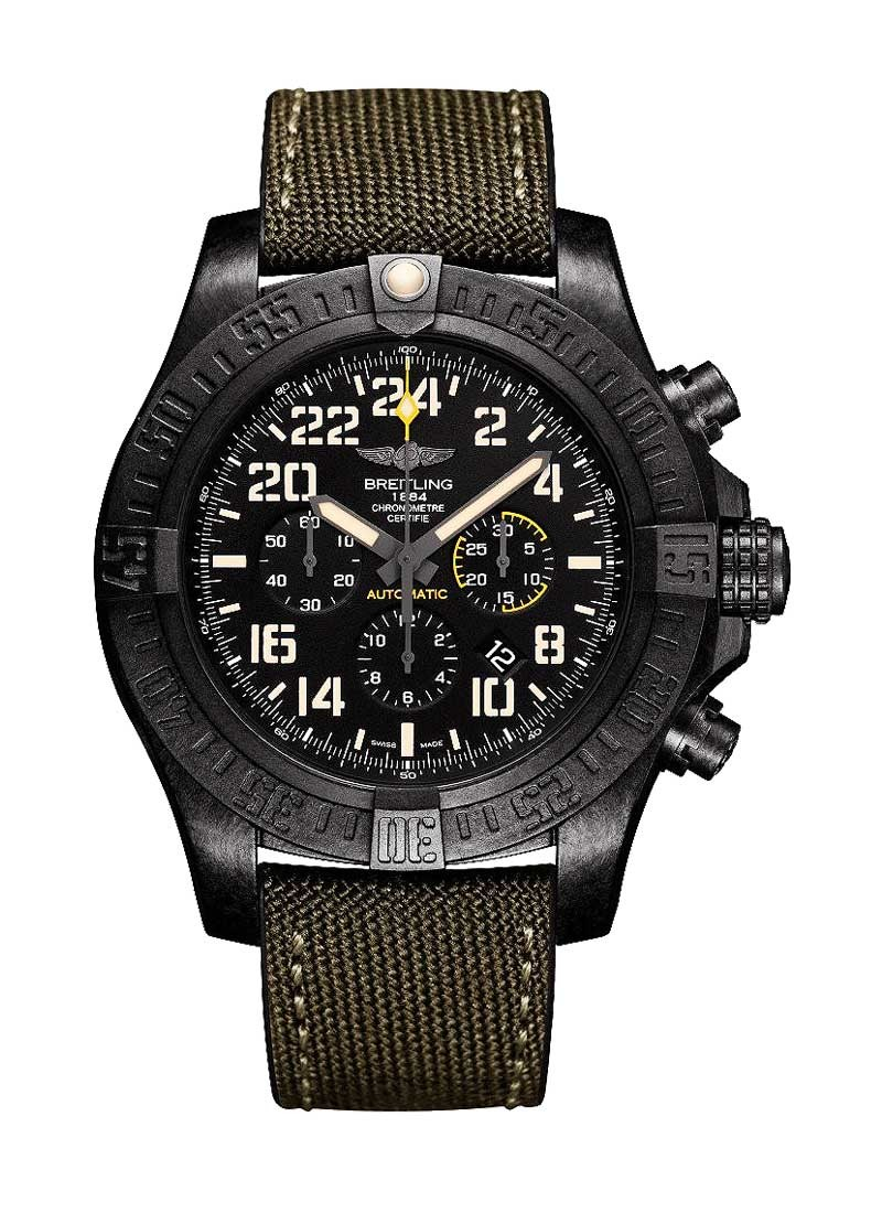 Breitling Avenger Hurricane Military in Ultralight Polymer