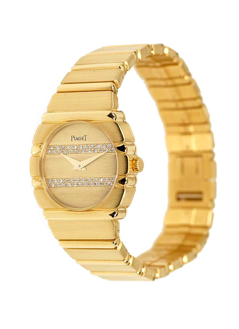 Piaget Ladies Round Polo in Yellow Gold