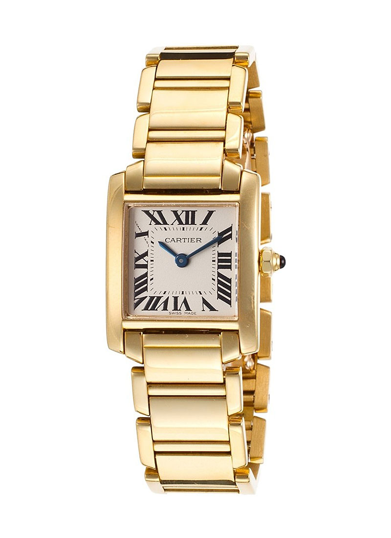 Cartier Tank Francaise in Yellow Gold