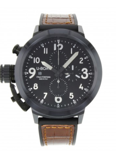 U-Boat Flightdeck Chronograph 50mm in Black Ceramic