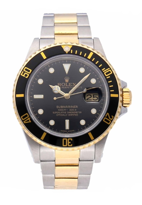 Rolex Used Submariner 40mm in Steel with Black Bezel