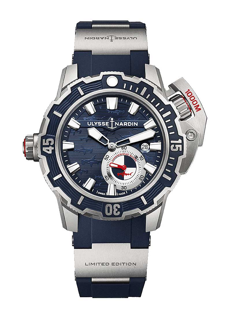 Ulysse Nardin Diver Deep Dive 46mm in Titanium