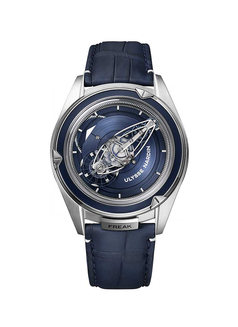 Ulysse Nardin Freak Vision 45mm in Platinum