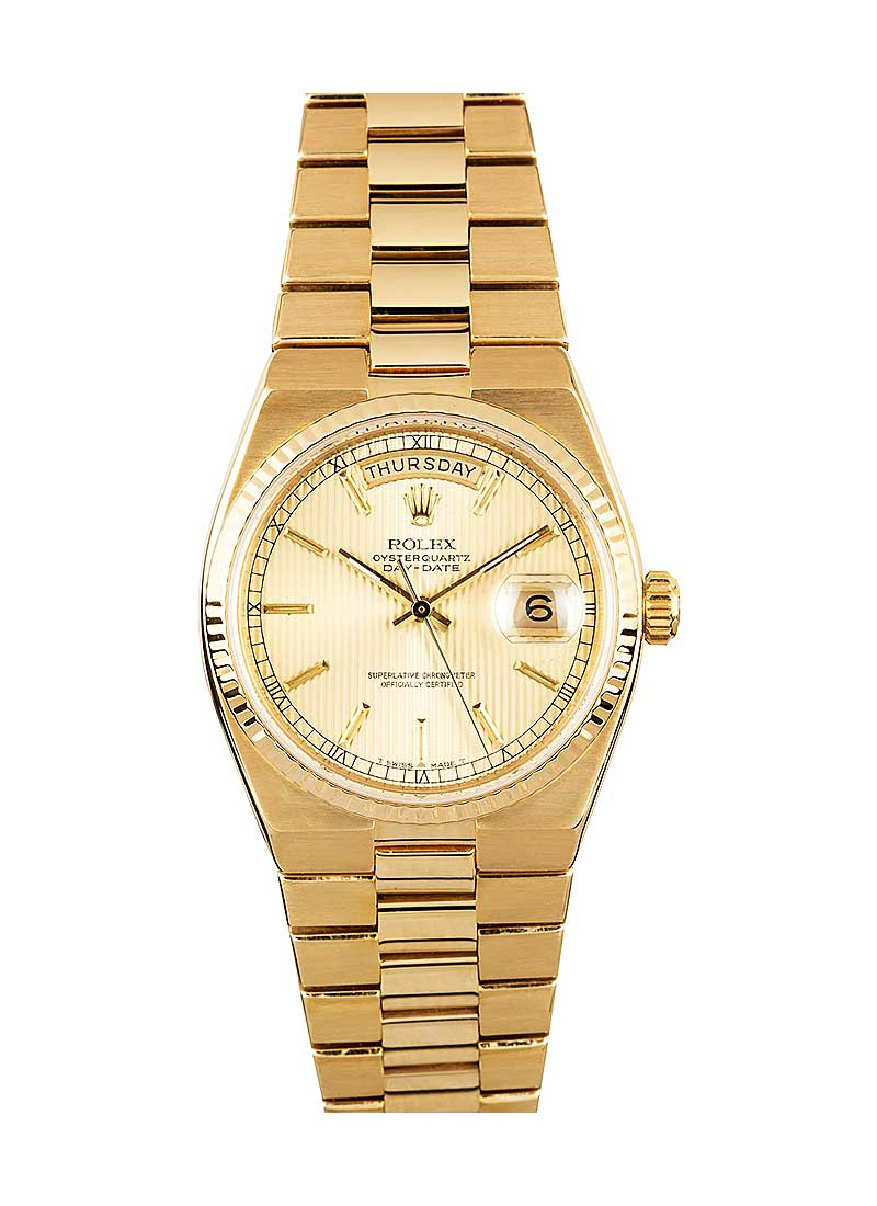 Pre-Owned Rolex Day-Date President 36mm in Yellow Gold