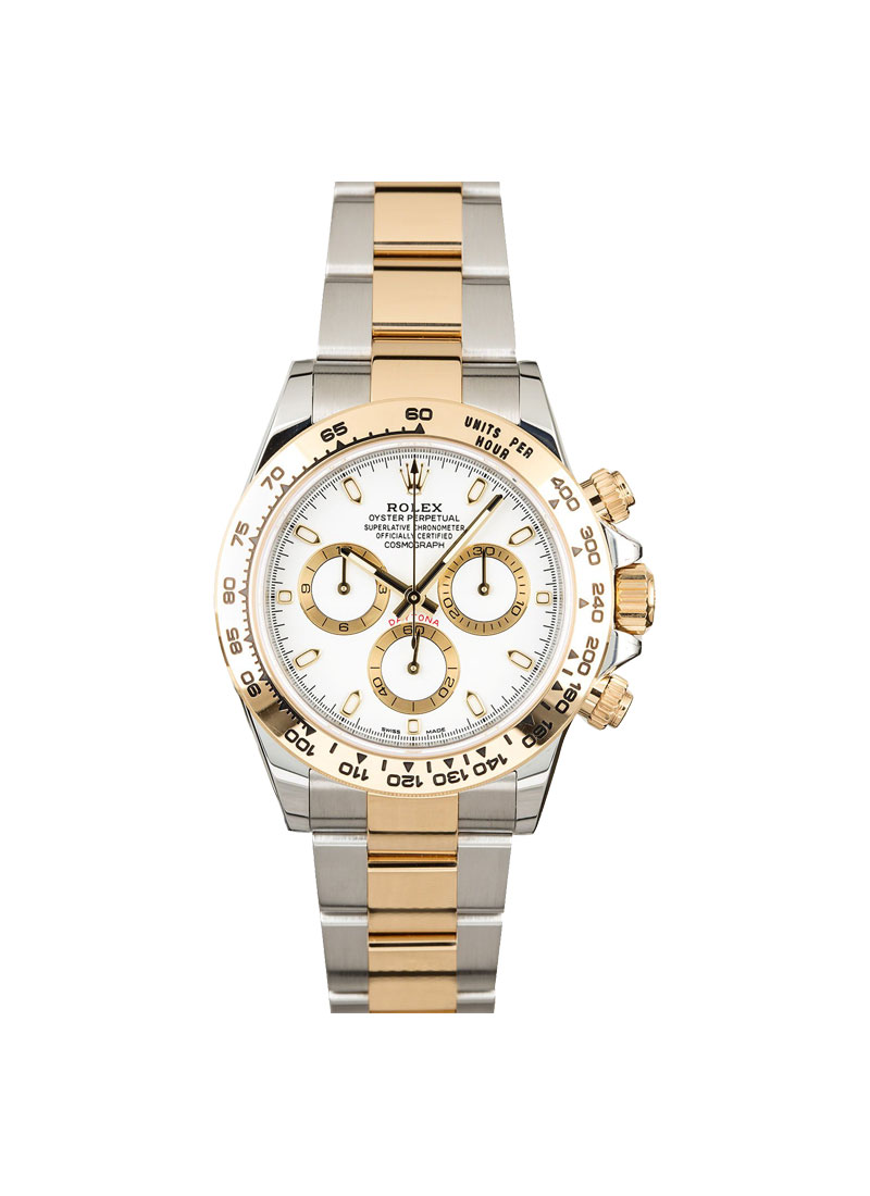 Rolex Unworn 2-Tone Daytona with Yellow Gold Bezel