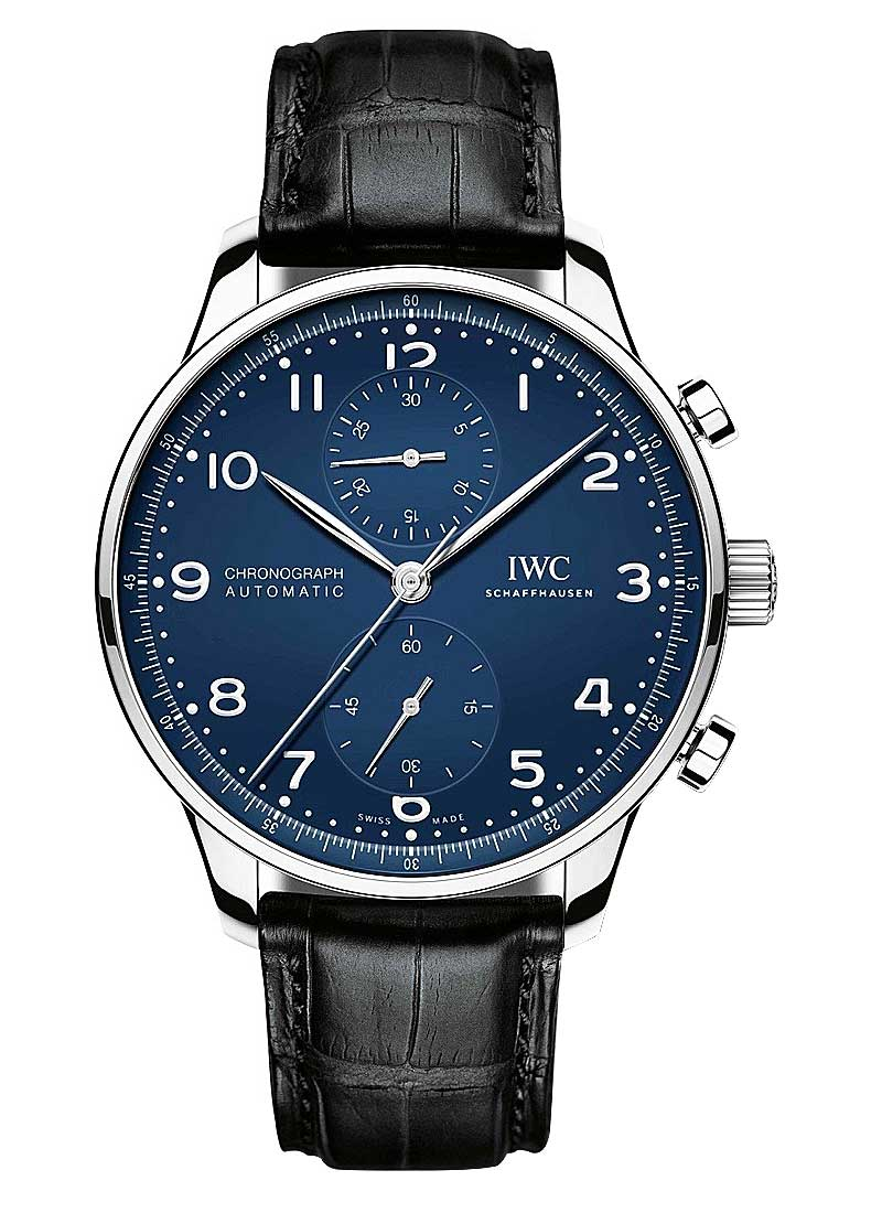 IWC Portugieser Chronograph 41mm in Stainless Steel