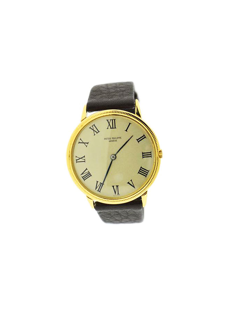 Patek Philippe Calatrava 36mm in Yellow Gold