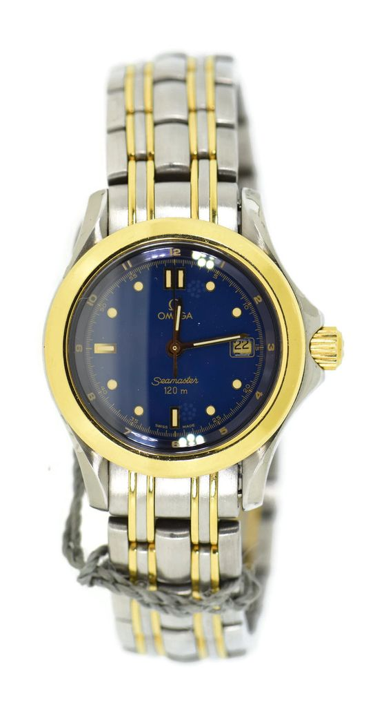 Omega Seamaster Two Tone 120M in Steel With Yellow Gold
