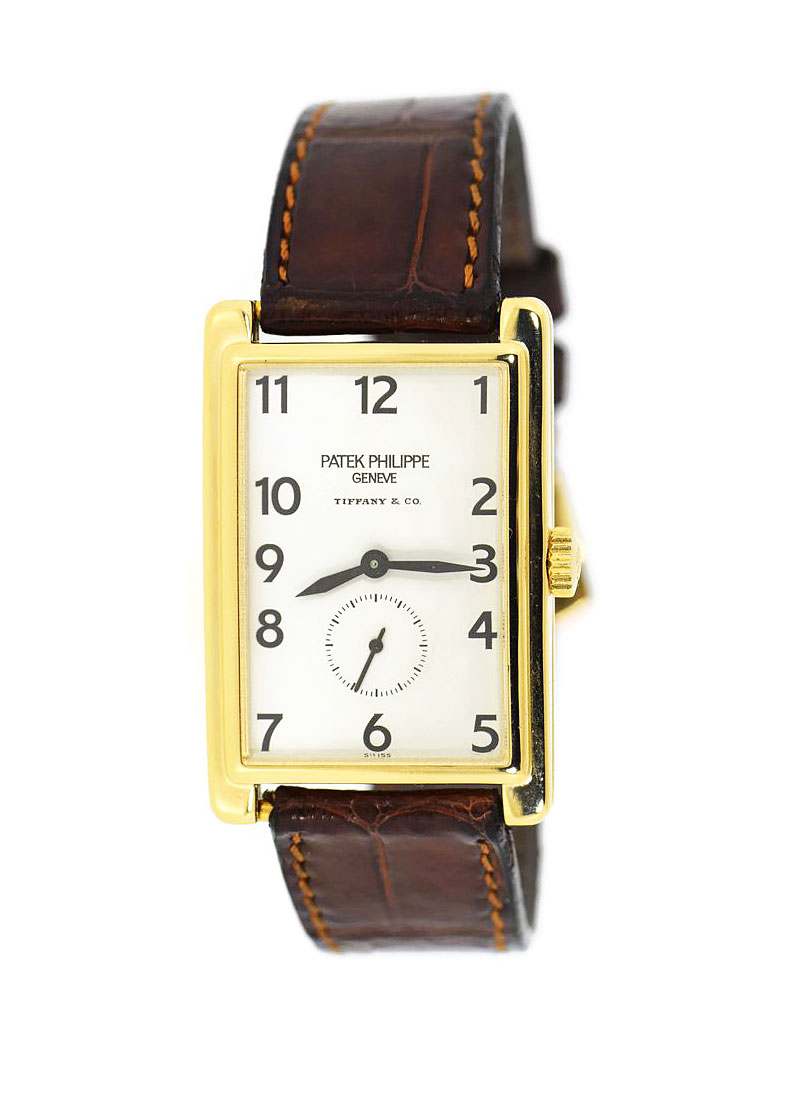Patek Philippe Gondolo Tiffany & Co in Yellow Gold