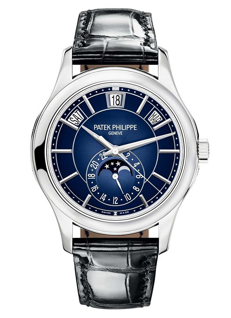 Patek Philippe Annual Calendar 5205G Moon Phase in White Gold