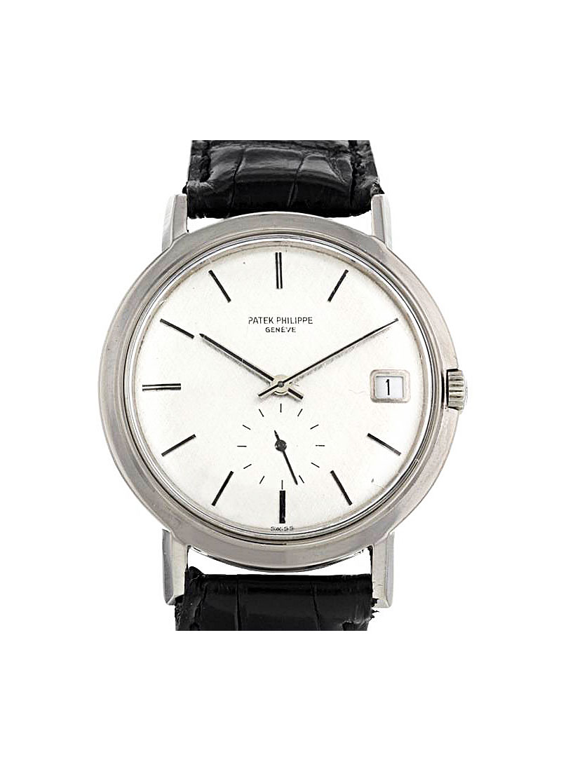 Patek Philippe Calatrava 3541 35mm Automatic in White Gold
