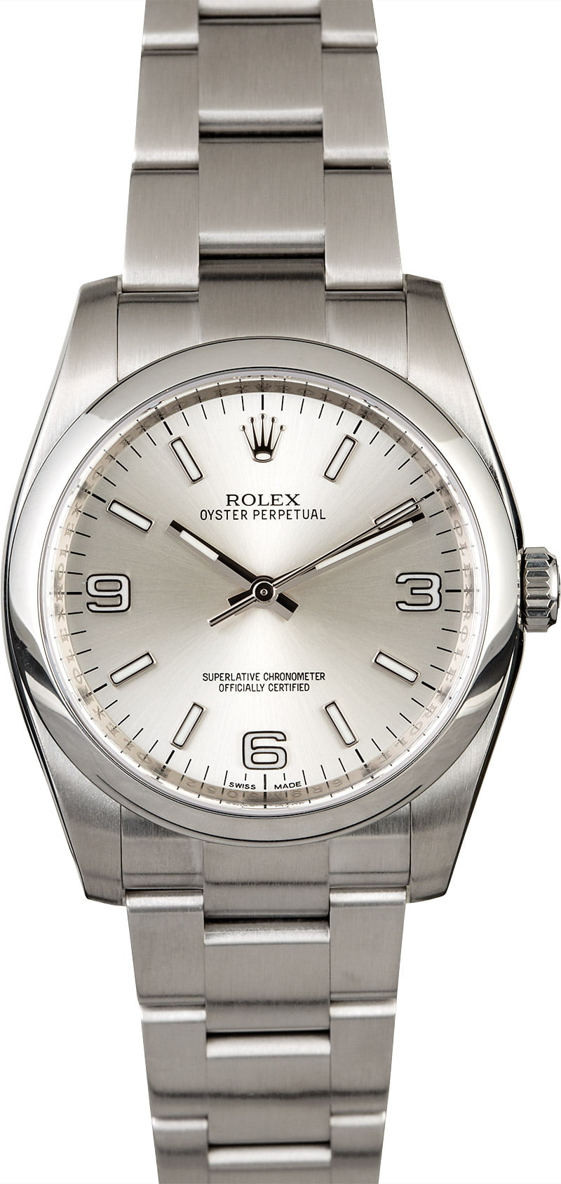 Rolex Used Oyster Perpetual 36mm in Steel with Smooth Bezel