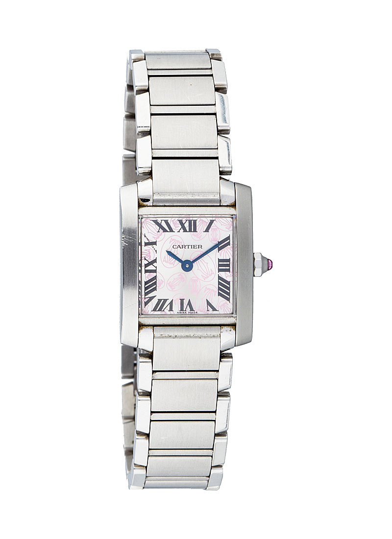 Cartier Tank Francaise Quartz in Steel