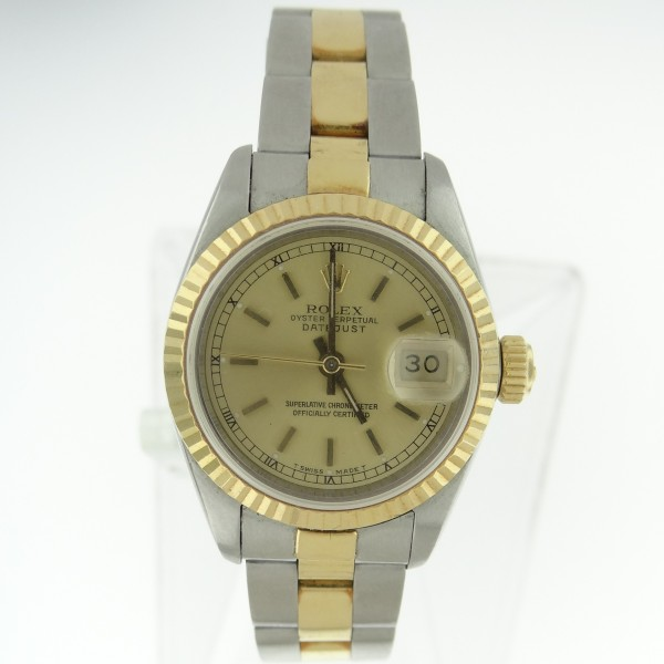 Rolex Used Ladies 2-Tone Datejust 26mm